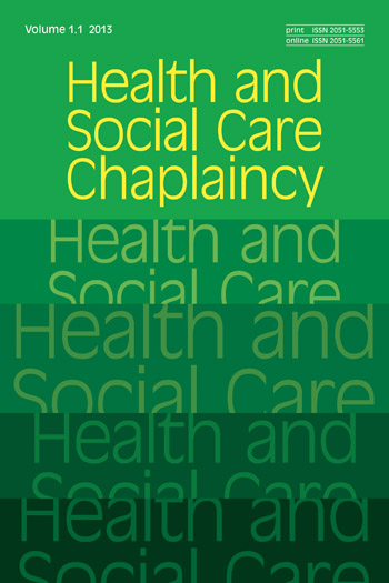 Health and Social Care Chaplaincy