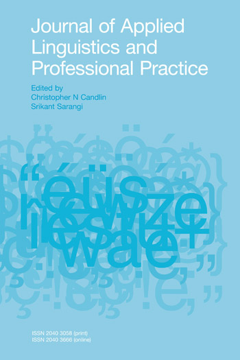 Journal of Applied Linguistics and Professional Practice
