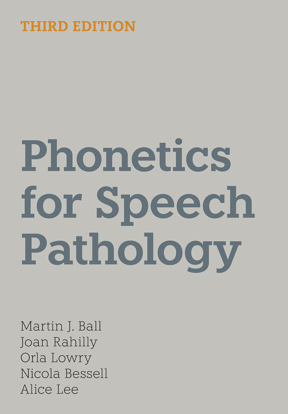 Phonetics for Speech Pathology